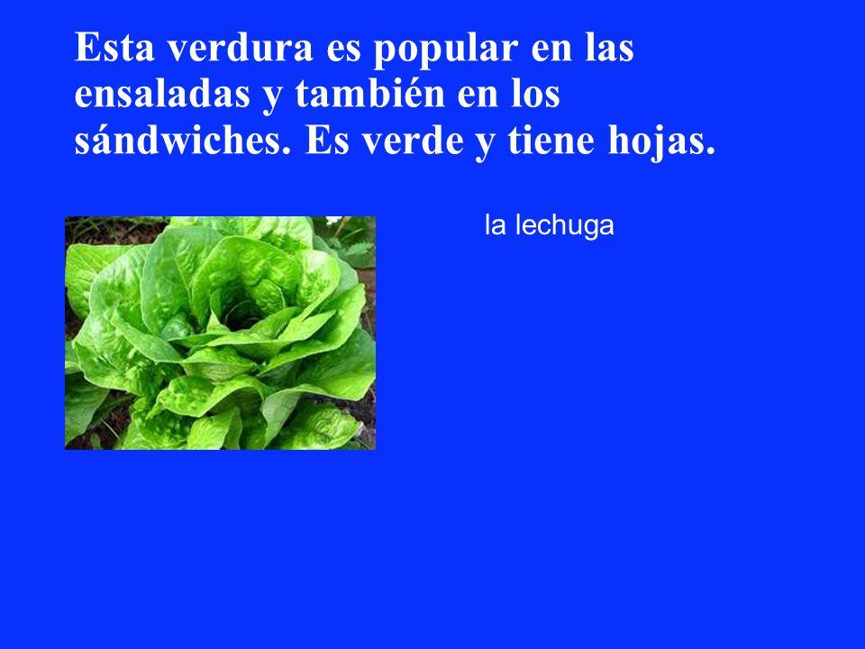 Esta verdura es popular en las ensaladas y también en los sándwiches
