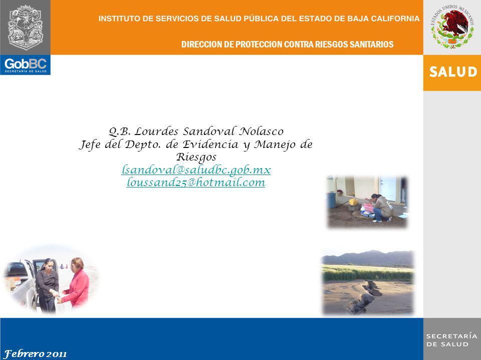 Q.B. Lourdes Sandoval Nolasco
