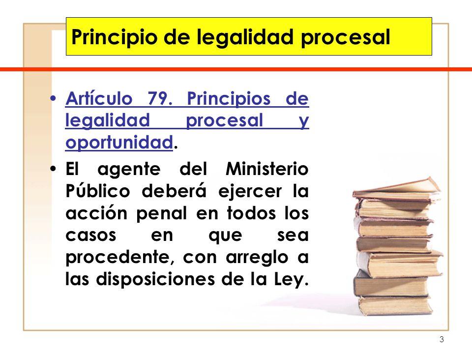 Principio de legalidad procesal