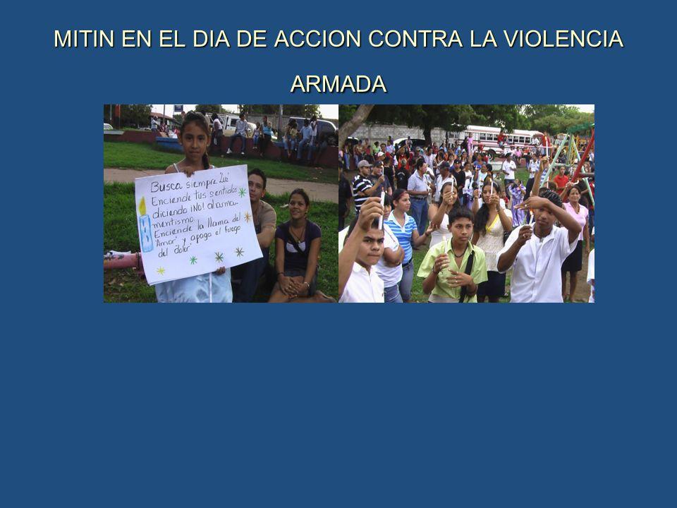 MITIN EN EL DIA DE ACCION CONTRA LA VIOLENCIA ARMADA