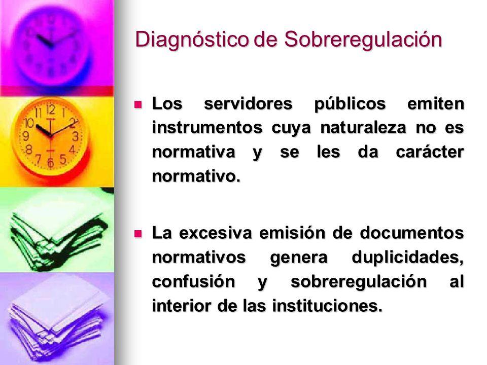 Diagnóstico de Sobreregulación