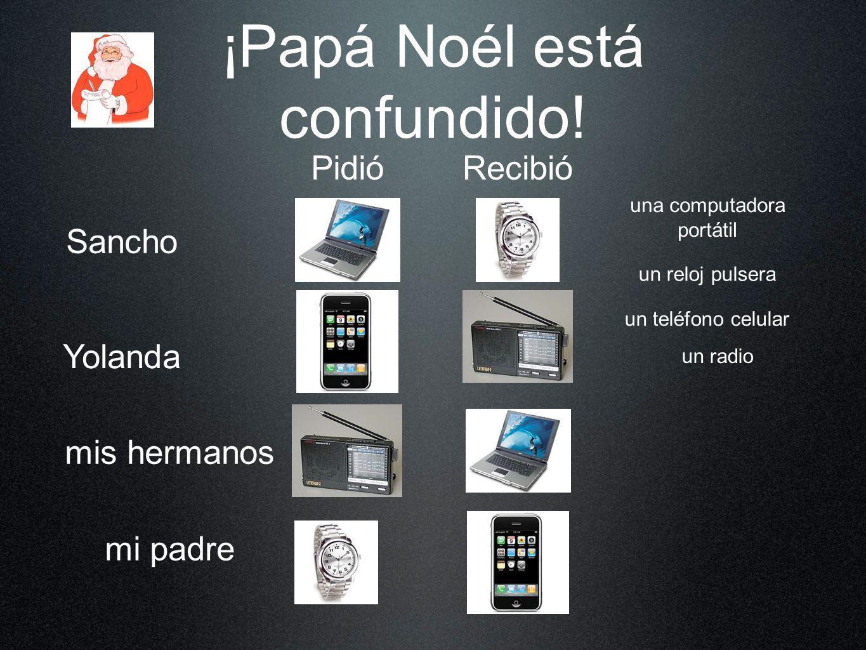 ¡Papá Noél está confundido!