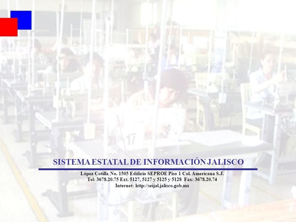 SISTEMA ESTATAL DE INFORMACIÓN JALISCO