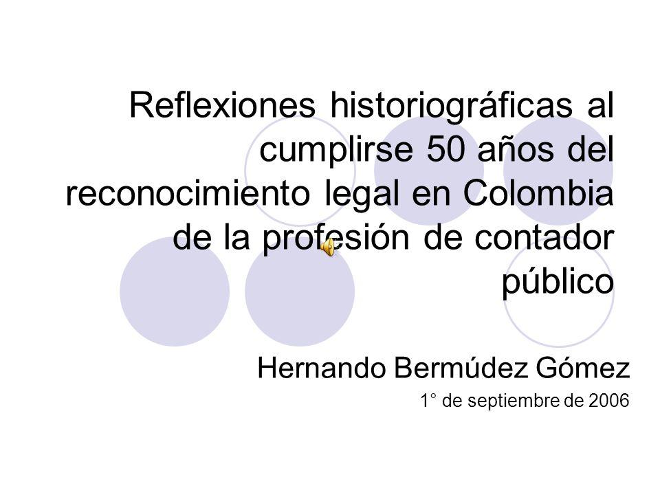 Hernando Bermúdez Gómez 1° de septiembre de 2006