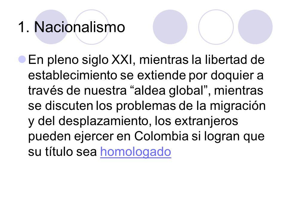 1. Nacionalismo