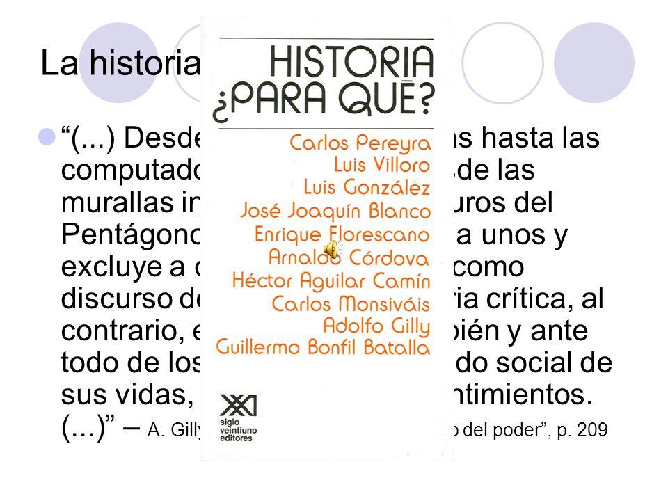 La historia y el poder
