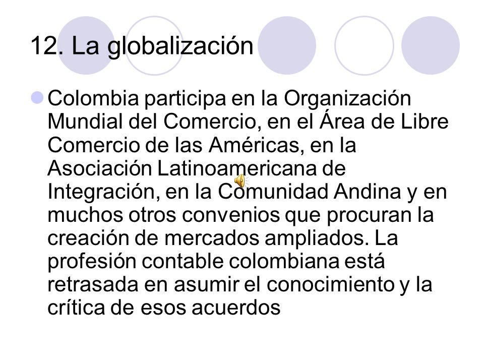 12. La globalización
