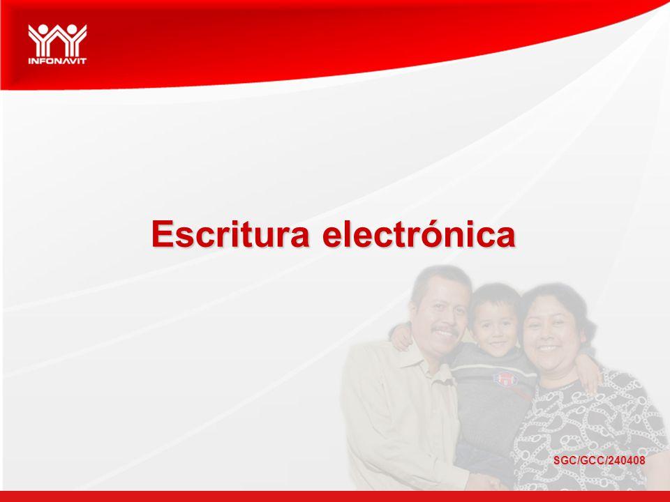 Escritura electrónica