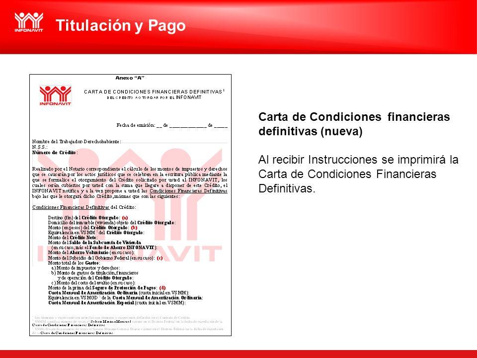 Titulación y Pago Carta de Condiciones financieras definitivas (nueva)