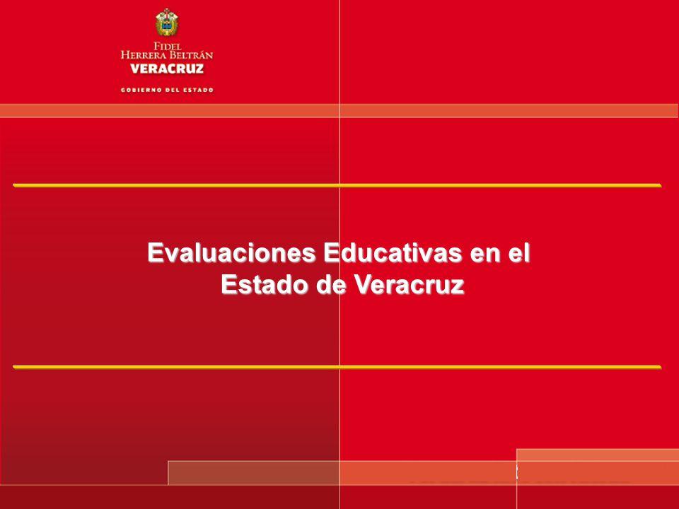Evaluaciones Educativas en el