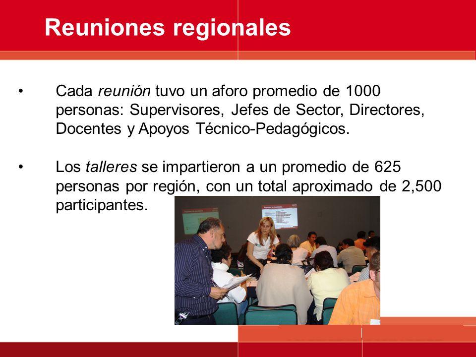 Reuniones regionales