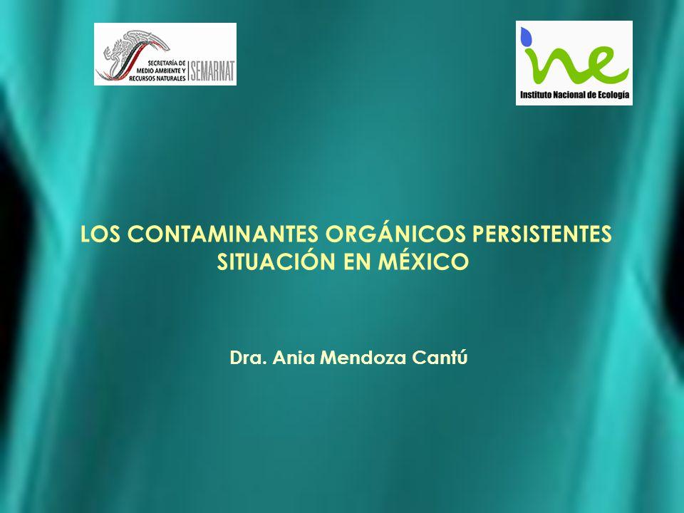 LOS CONTAMINANTES ORGÁNICOS PERSISTENTES