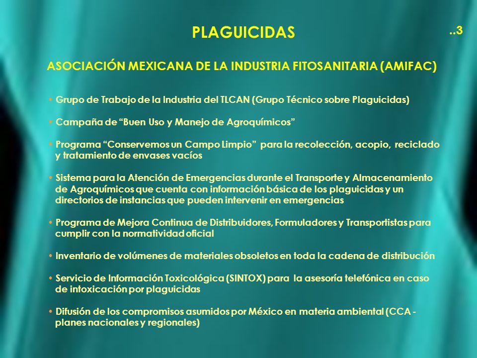 ASOCIACIÓN MEXICANA DE LA INDUSTRIA FITOSANITARIA (AMIFAC)