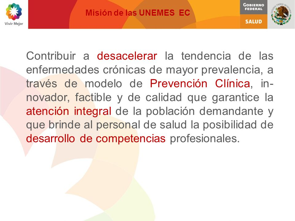 Misión de las UNEMES EC