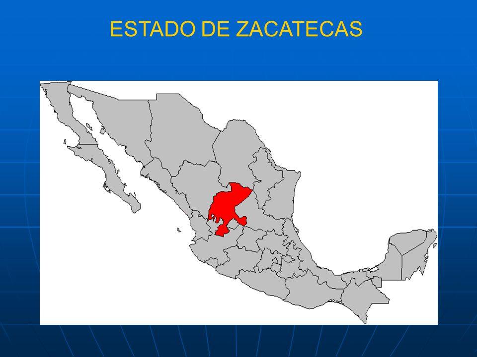 ESTADO DE ZACATECAS