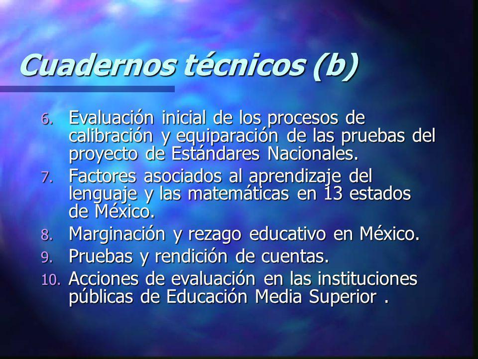 Cuadernos técnicos (b)