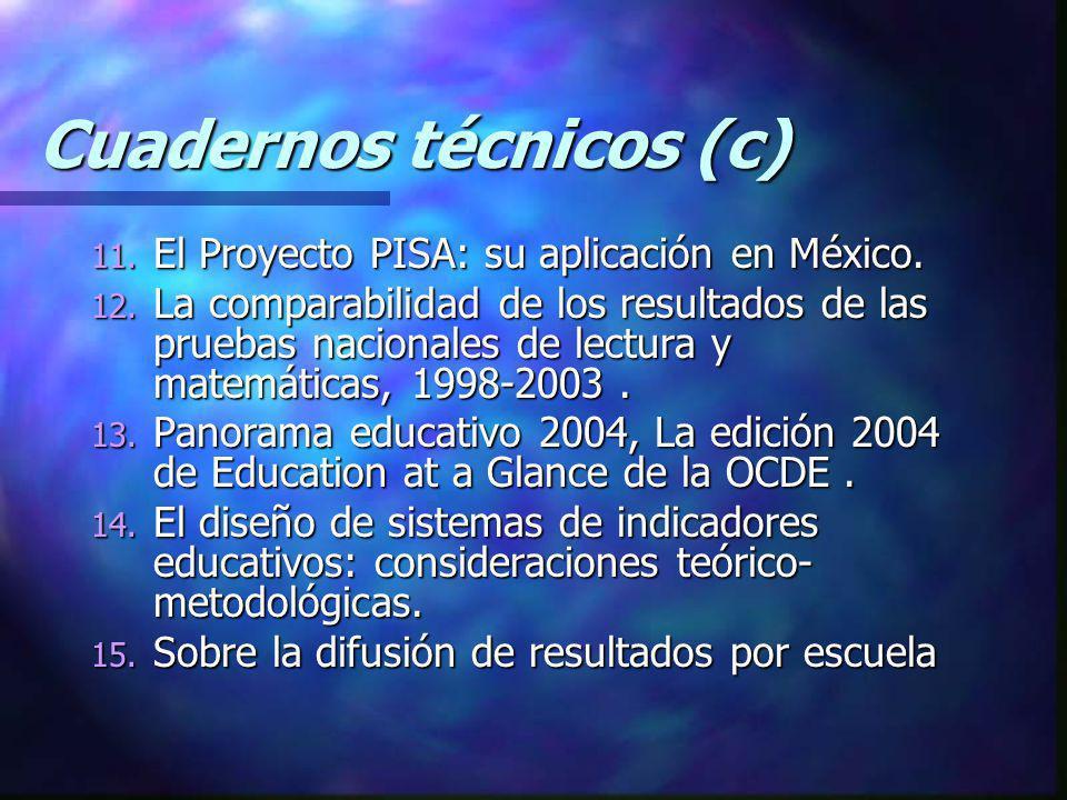 Cuadernos técnicos (c)