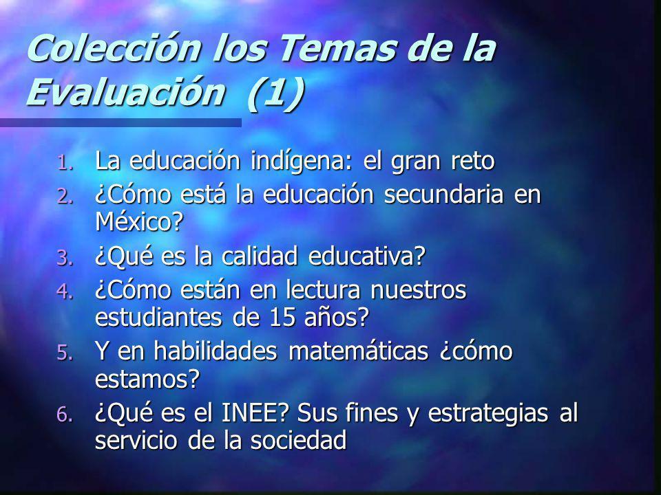 Colección los Temas de la Evaluación (1)