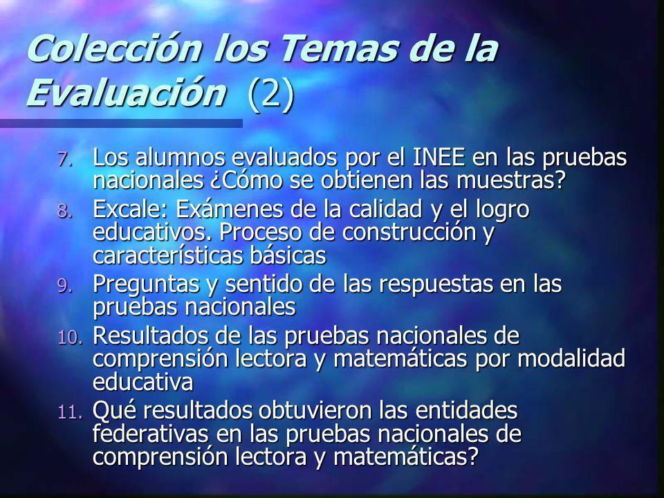 Colección los Temas de la Evaluación (2)