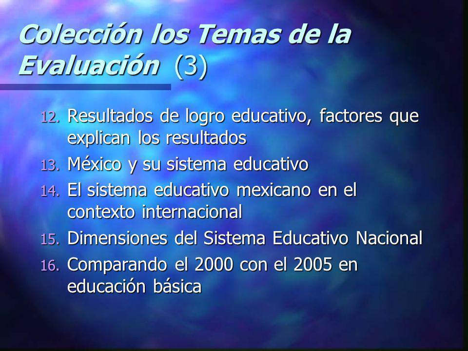 Colección los Temas de la Evaluación (3)