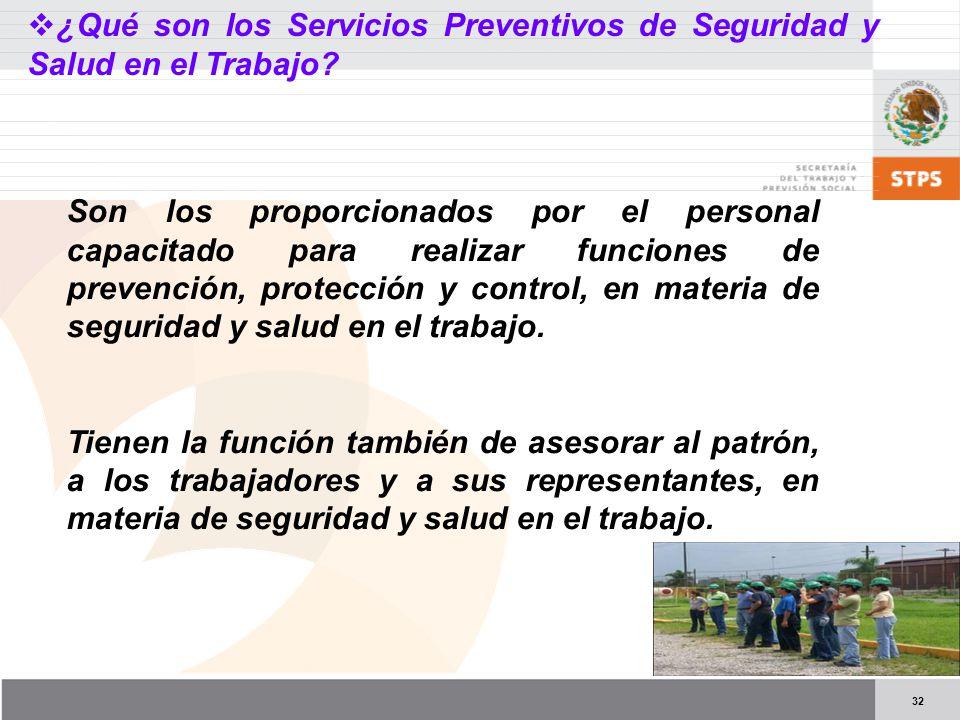 ¿Qué son los Servicios Preventivos de Seguridad y Salud en el Trabajo