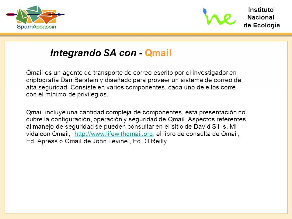 Integrando SA con - Qmail