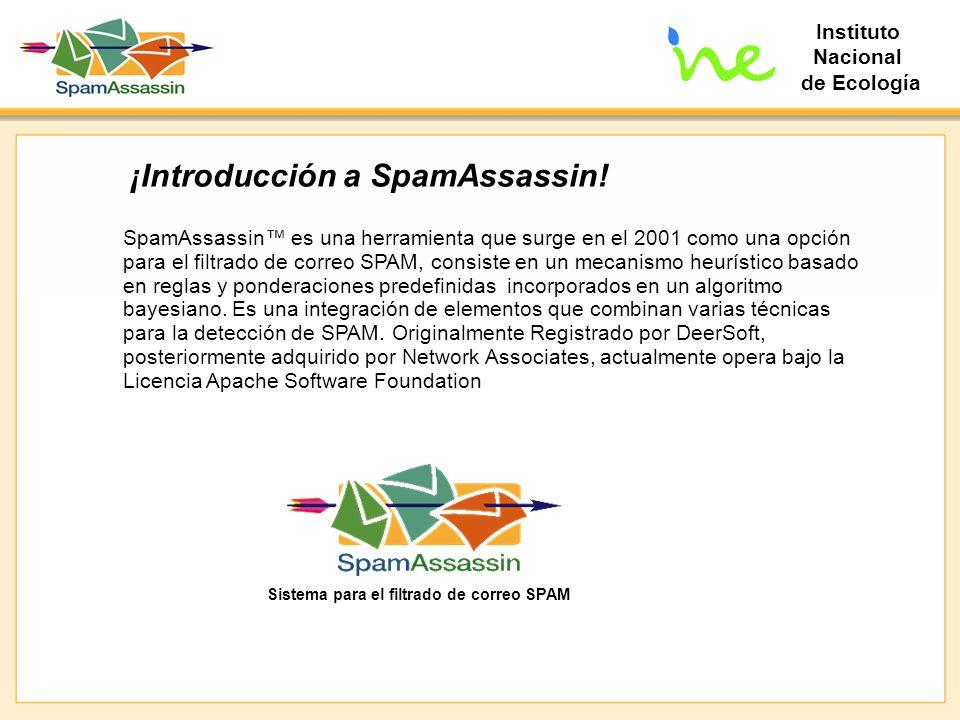 ¡Introducción a SpamAssassin!