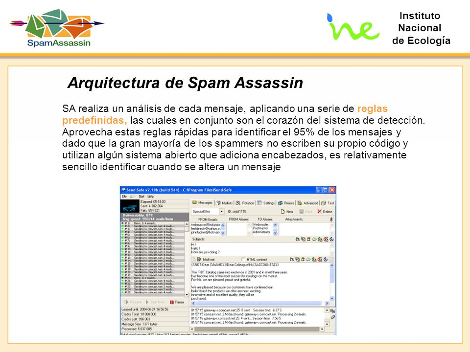 Arquitectura de Spam Assassin