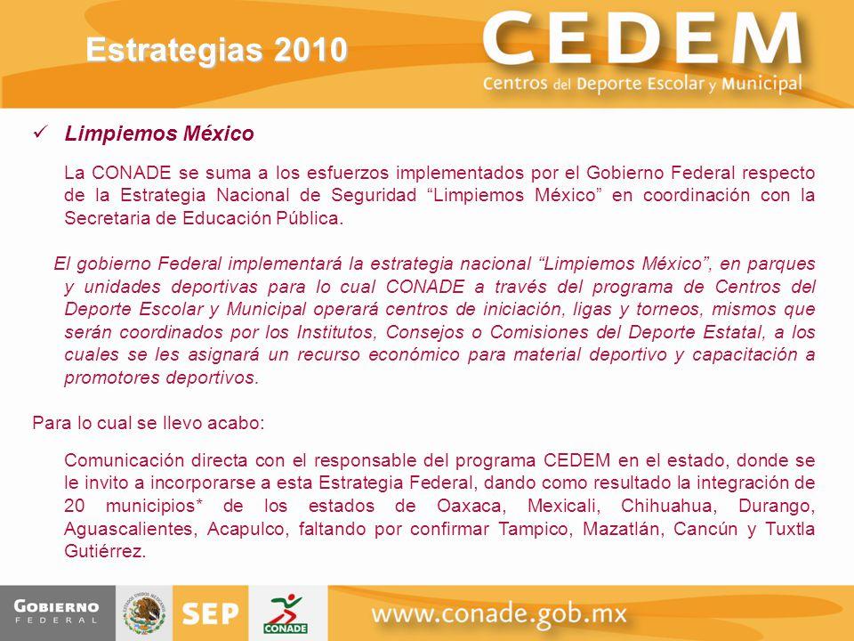 Estrategias 2010 Limpiemos México