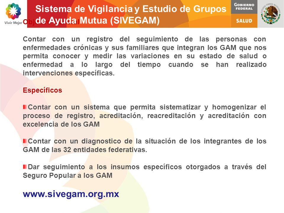 Sistema de Vigilancia y Estudio de Grupos de Ayuda Mutua (SIVEGAM)