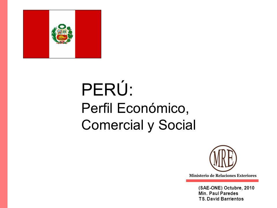 PERÚ: Perfil Económico, Comercial y Social