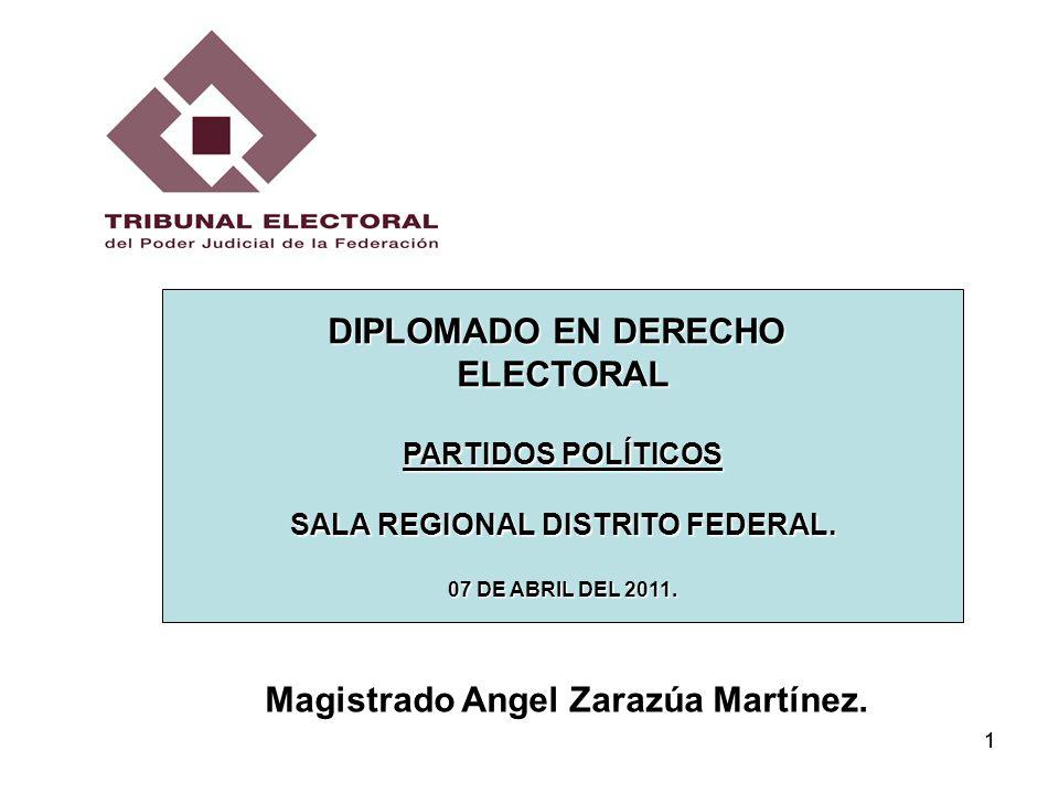 SALA REGIONAL DISTRITO FEDERAL.