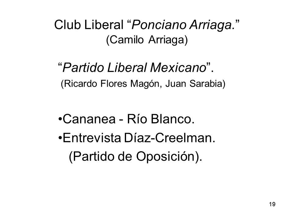 Club Liberal Ponciano Arriaga. (Camilo Arriaga)