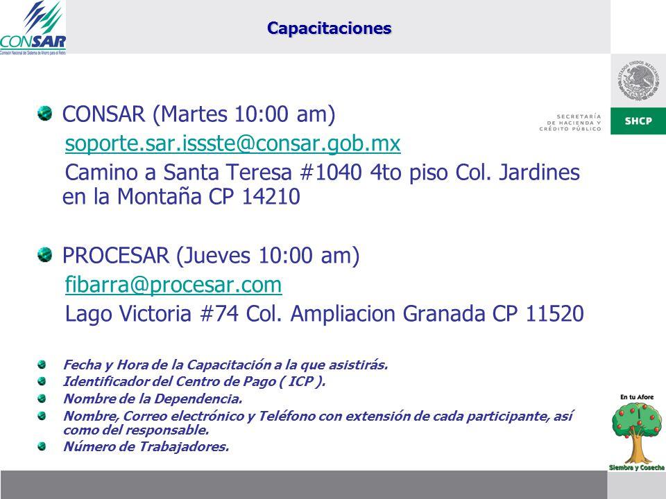 Lago Victoria #74 Col. Ampliacion Granada CP 11520