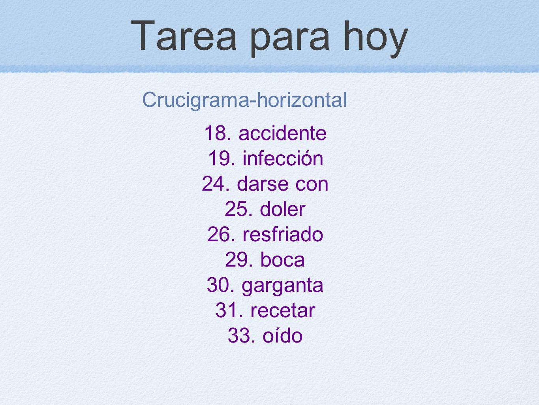 Crucigrama-horizontal