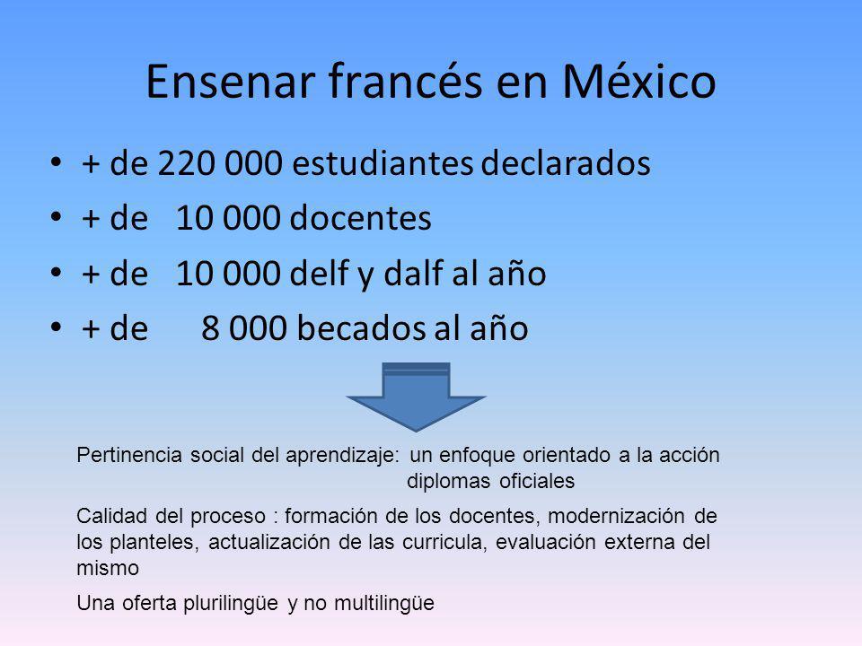Ensenar francés en México