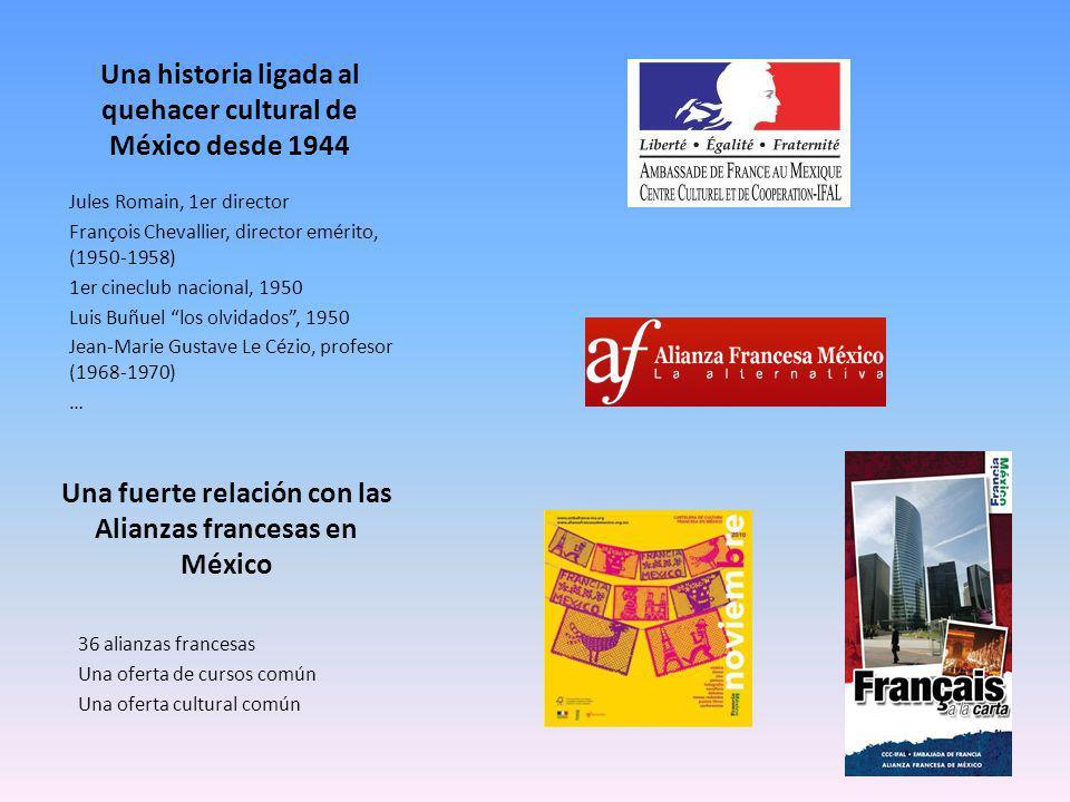 Una historia ligada al quehacer cultural de México desde 1944