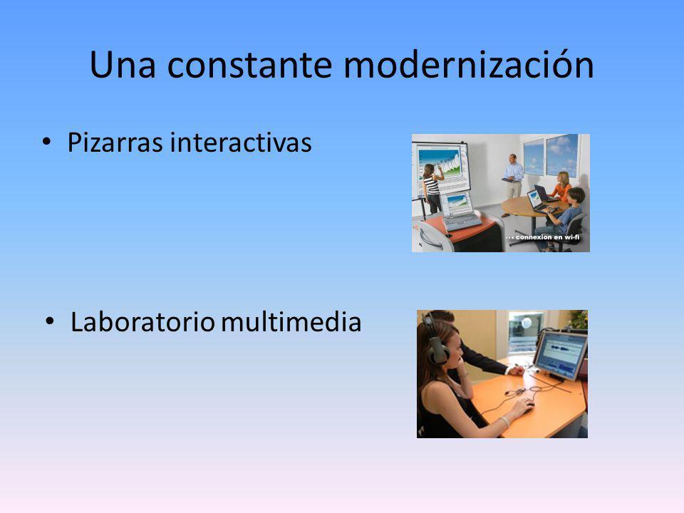 Una constante modernización