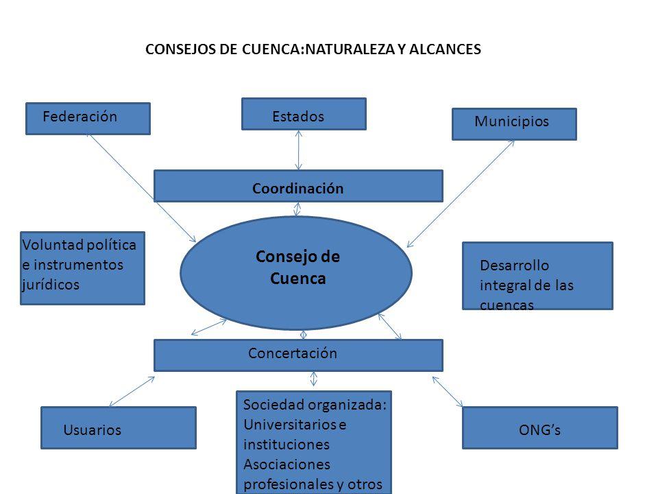 CONSEJOS DE CUENCA:NATURALEZA Y ALCANCES