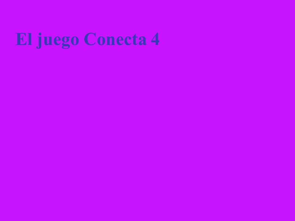 El juego Conecta 4 15
