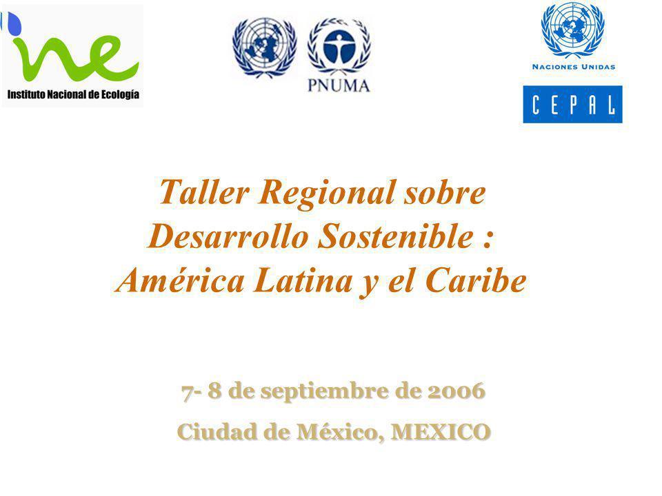 7- 8 de septiembre de 2006 Ciudad de México, MEXICO