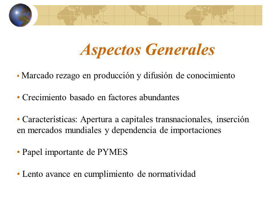 Aspectos Generales Crecimiento basado en factores abundantes