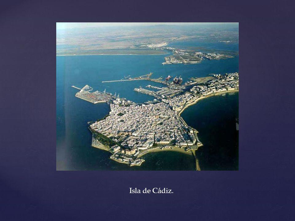Isla de Cádiz.