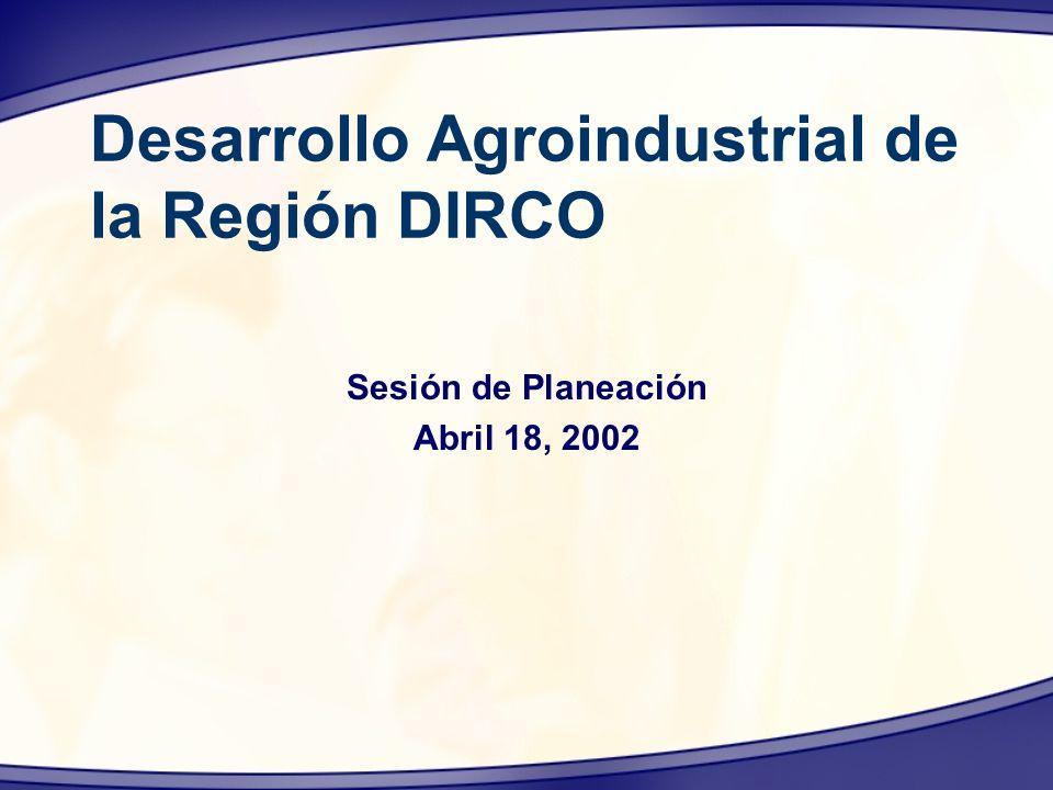 Desarrollo Agroindustrial de la Región DIRCO