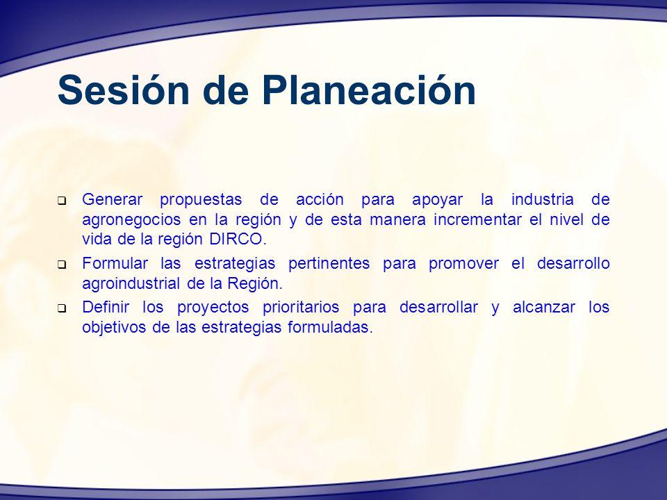 Sesión de Planeación