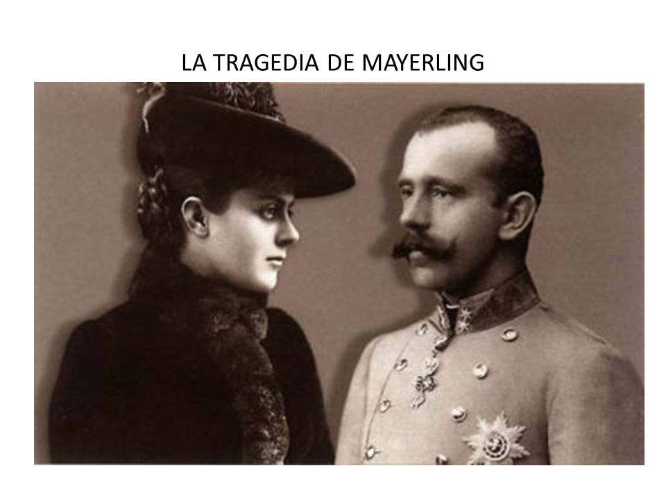 LA TRAGEDIA DE MAYERLING