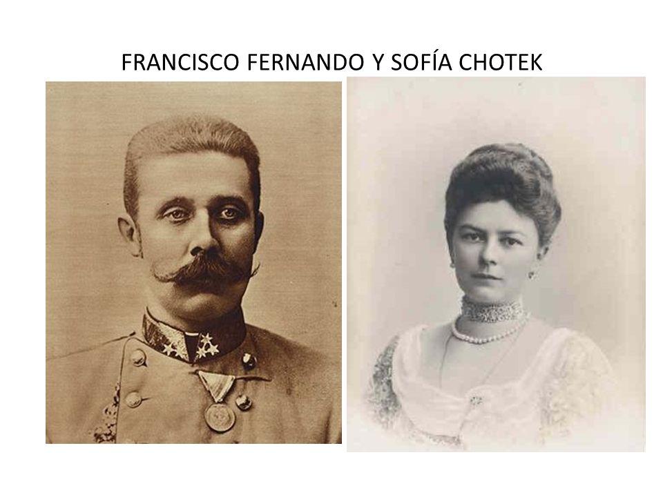 FRANCISCO FERNANDO Y SOFÍA CHOTEK