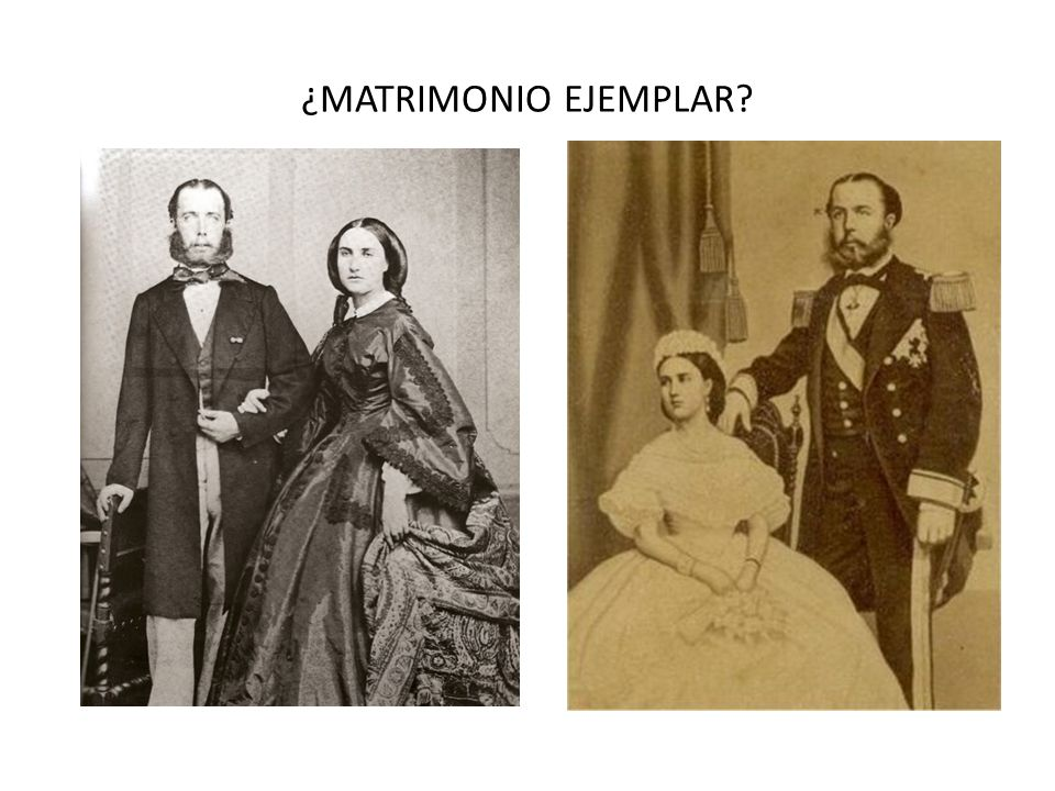 ¿MATRIMONIO EJEMPLAR