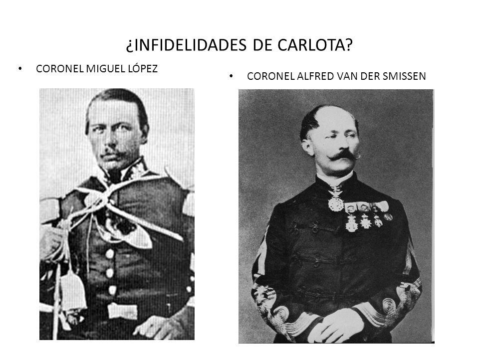 ¿INFIDELIDADES DE CARLOTA