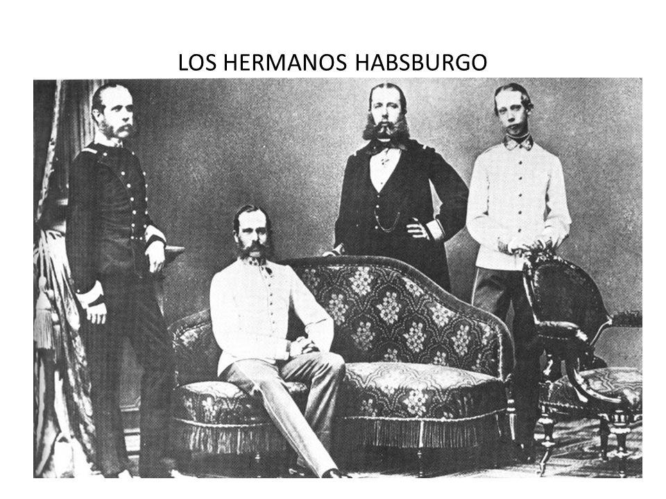 LOS HERMANOS HABSBURGO